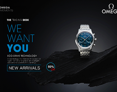 OMEGA WATCH POSTER... !