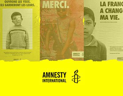 Amnesty International - Ad Concepts