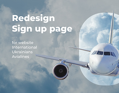 Redesign Sign Up page