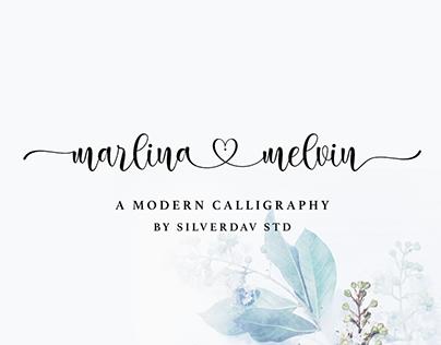 Free Font | Marlina Melvin