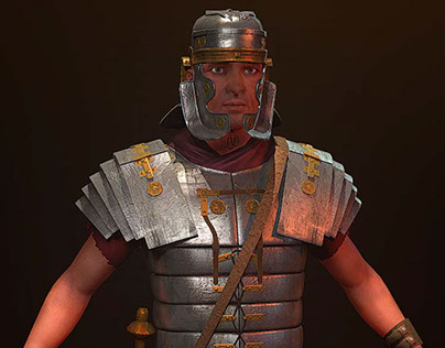 Roman Soldier - Historical Series - Realtime Character