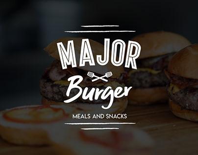 Branding Major Burger