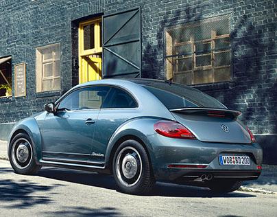 vw beetle CGI
