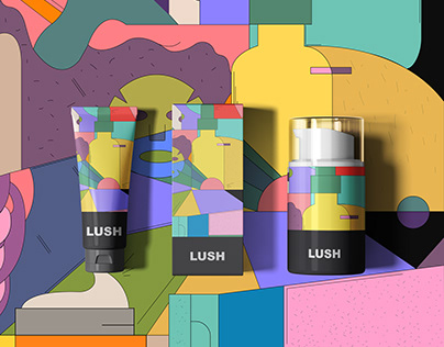 LUSH | PACKAGING Design