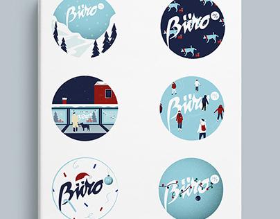 NY stickers for Buro 24/7