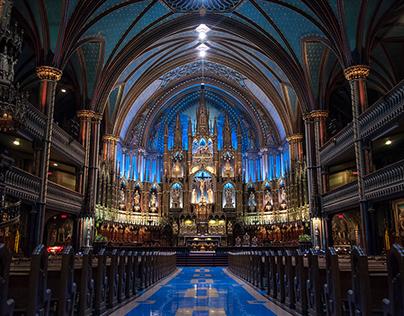 Basílica Notre Dame, Montreal