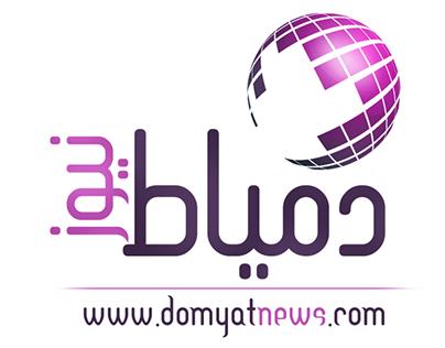 Domyat News Logo