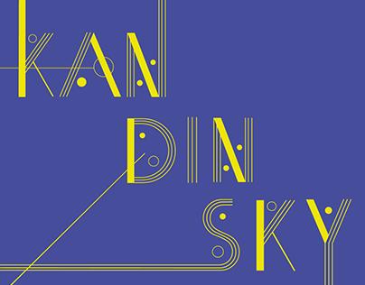 Kandinsky - Display Font