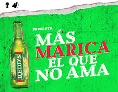 REDD'S - MÁS MARICA EL QUE NO AMA