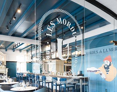 Les Mordus / Branding