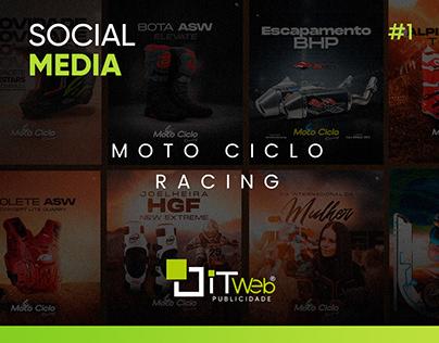 Social Media   Moto Ciclo Racing #1