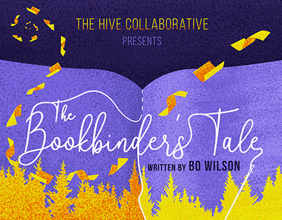 The Bookbinder's Tale (Theater Play Poster)