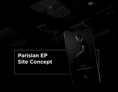 Parisian EP Site Concept