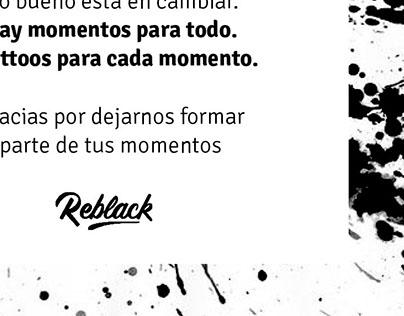Targetas Reblack