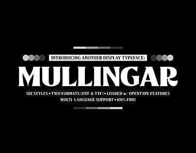 Mullingar Typeface