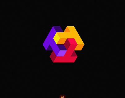 Simple 3D Logo Design + Time-Lapse Video