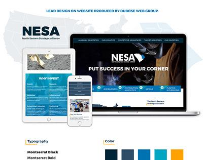 North Eastern Strategic Alliance Website Design
