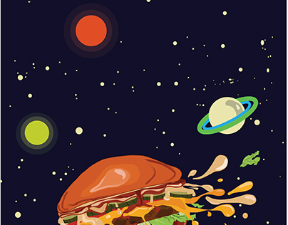 Burger In Space