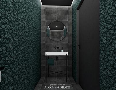 Minimal & Forest : Salle d'eau