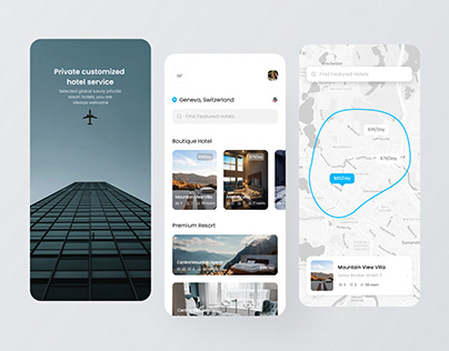 Custom accommodation app