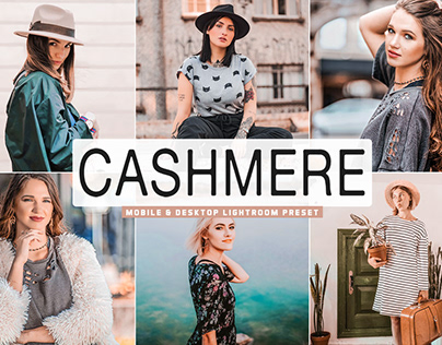 Free Cashmere Mobile & Desktop Lightroom Preset
