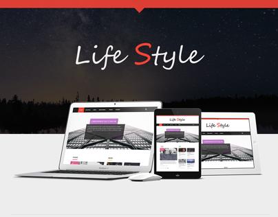 Life Style Wordpress Theme