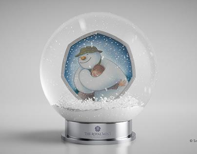 Royal Mint Snowman Animation