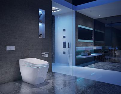 Bathroom Design Product Rendering 2016