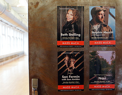 Fall Season Posters at MASS MoCA