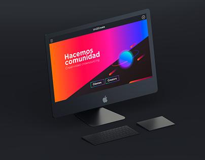 Uni2Create Crowdsoucing Branding