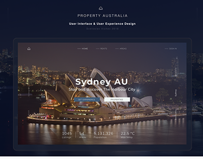 PROPERTY AU / User Interface Design