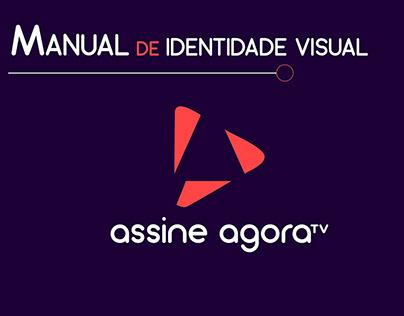 Assine AgoraTV | Identidade Visual