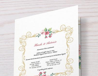 Wedding Invite Card