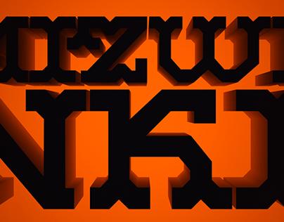 Mizwinki Display Font Case Study & Specimen Preview