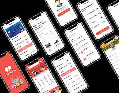Simple eCommerce App UI Design