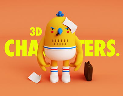 3D Characters.