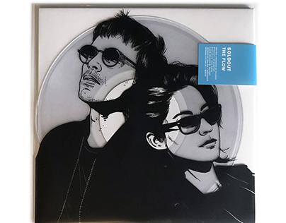 """Soldout - The Flow - 10"""" transparent vinyl"""