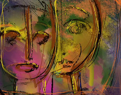 """I see you through my eyes. """"Moods""""."""