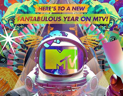 MTV Vietnam 2015 Chrismas & New Year Printad