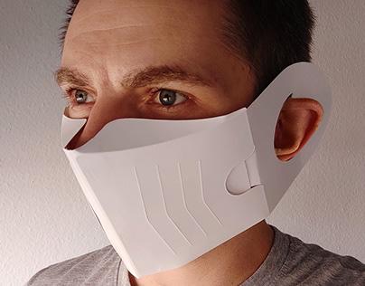 Folding Carton Face Masks