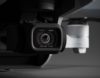 DJI Mavic Air 2 + 3D model