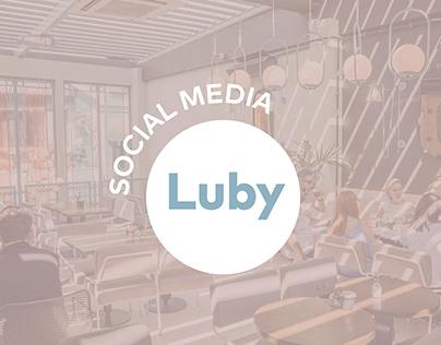 Luby Karaköy Social Media