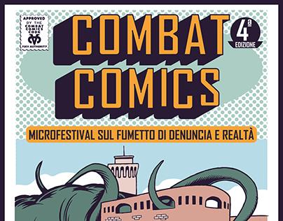 Combat Comics Poster 2015