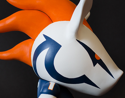 Masonic Mascot - Bronco Dad #1