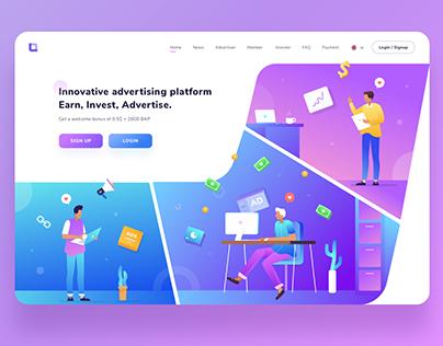 Advertising Platform Design Exploration