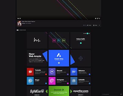 Twitch Panel Design | @tasarimci