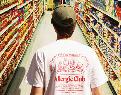 ALLERGIC CLUB Tee