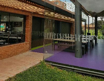 COLEGIO ANGLO COLOMBIANO Ampliación comedor pre escolar