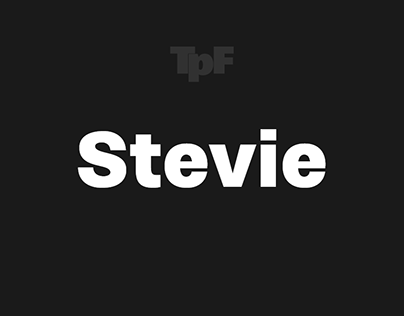 Stevie Sans Promotional Banners