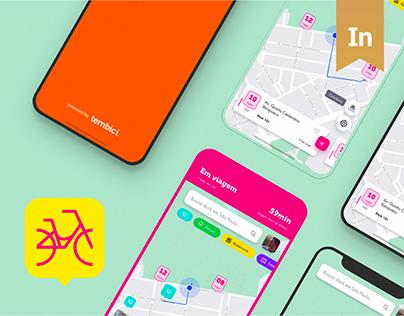 App Bike Sharing - Tembici / Bike Itaú